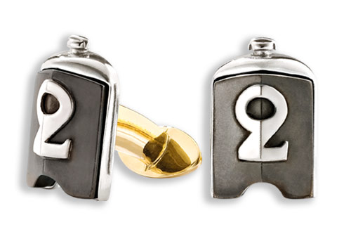Bentley Old Number Radiator Cufflinks