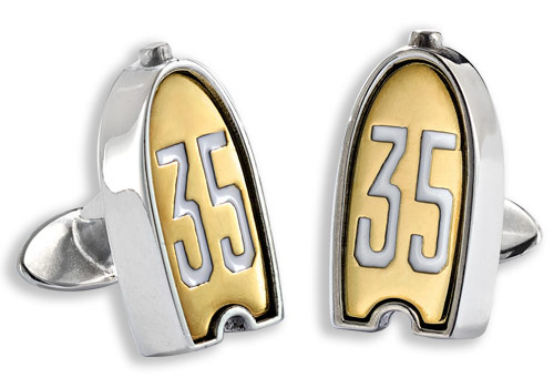 Bugatti Type 35 Radiator Cufflinks