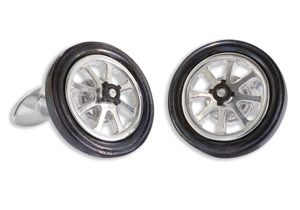 Bugatti Type 35 Wheel Cufflinks