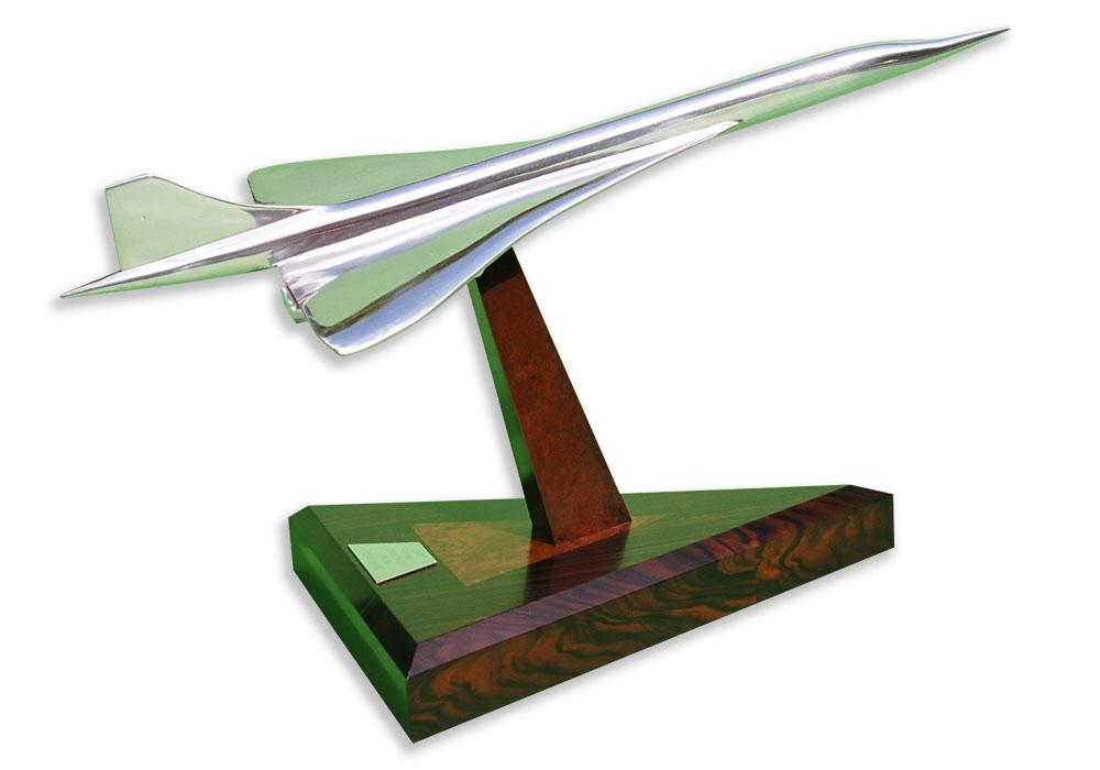 TMB Art Metal Concorde Sculpture