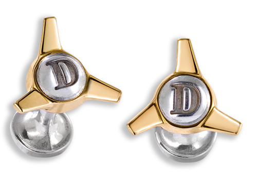 Jaguar D-Type Spinner Cufflinks