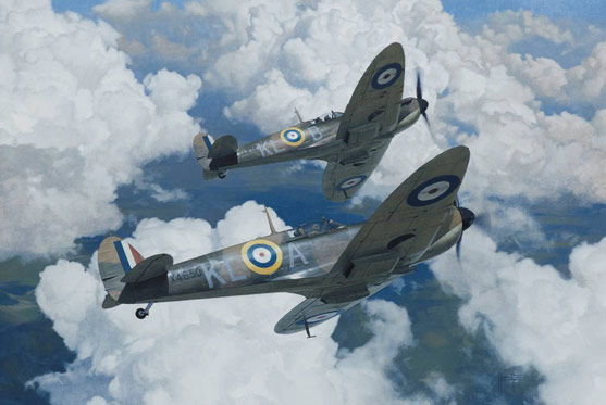 Spitfire X4275 Alex Hamilton