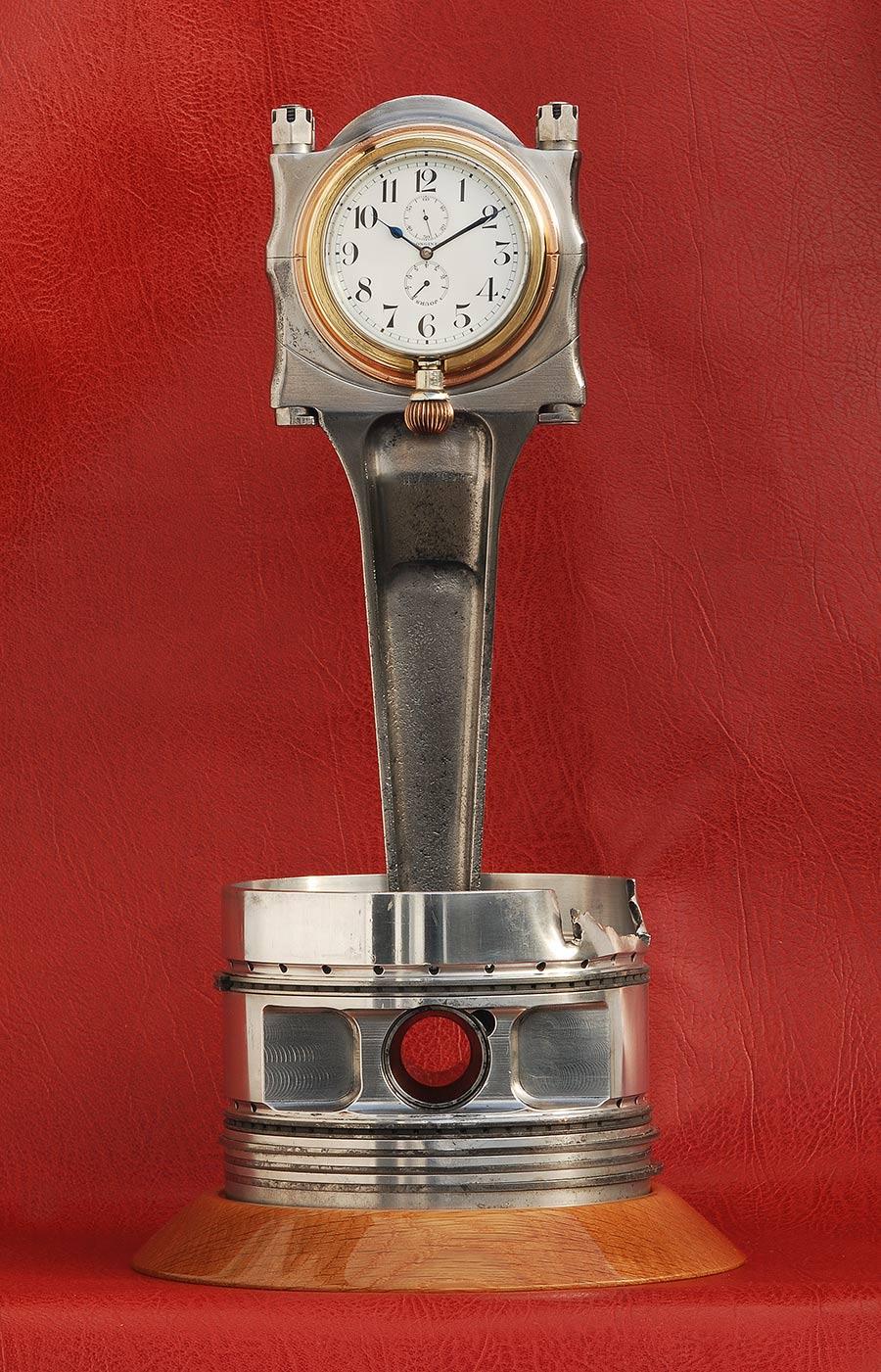 Spitfire X4276 Merlin Piston Clock